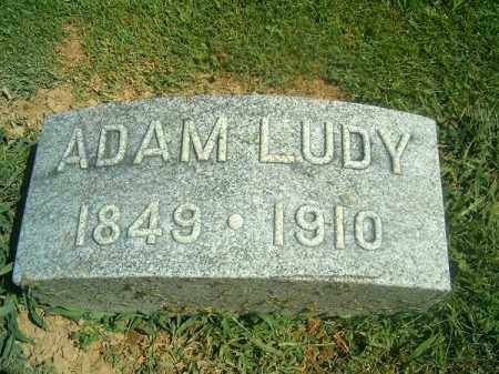 LUDY, ADAM - Brown County, Ohio | ADAM LUDY - Ohio Gravestone Photos