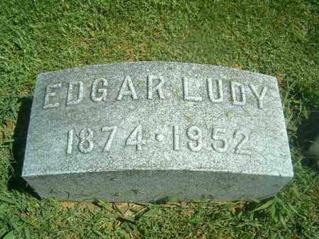 LUDY, EDGAR  R - Brown County, Ohio | EDGAR  R LUDY - Ohio Gravestone Photos
