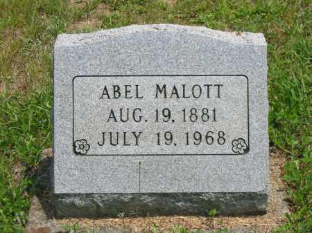 MALOTT, ABEL - Brown County, Ohio | ABEL MALOTT - Ohio Gravestone Photos