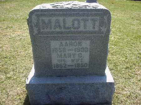 MALOTT, MARY  C - Brown County, Ohio | MARY  C MALOTT - Ohio Gravestone Photos