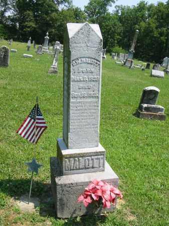 WAITS MALOTT, RACHEL LAVINA - Brown County, Ohio   RACHEL LAVINA WAITS MALOTT - Ohio Gravestone Photos