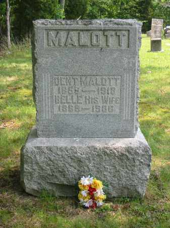 MALOTT, FLORA BELLE - Brown County, Ohio | FLORA BELLE MALOTT - Ohio Gravestone Photos