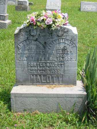 MALOTT, ANNA - Brown County, Ohio | ANNA MALOTT - Ohio Gravestone Photos