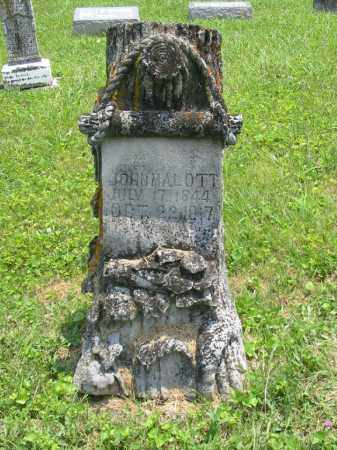 MALOTT, JOHN - Brown County, Ohio | JOHN MALOTT - Ohio Gravestone Photos