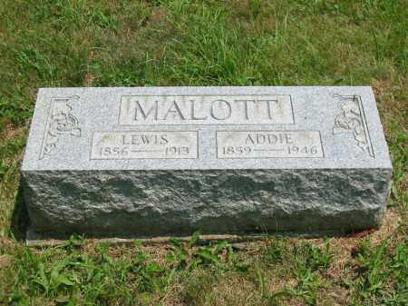 CONOVER MALOTT, ADDIE - Brown County, Ohio | ADDIE CONOVER MALOTT - Ohio Gravestone Photos
