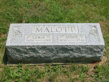 MALOTT, ADDIE - Brown County, Ohio | ADDIE MALOTT - Ohio Gravestone Photos