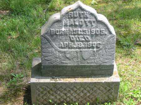 MALOTT, RUTH - Brown County, Ohio | RUTH MALOTT - Ohio Gravestone Photos