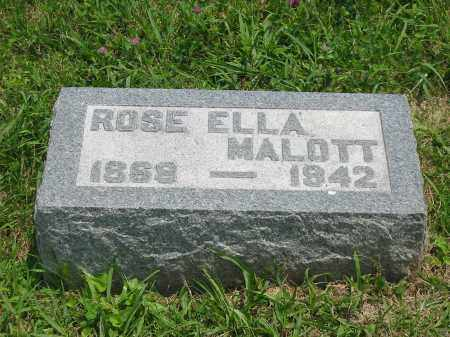 WALLACE ARMSTRONG, ROSE ELLA - Brown County, Ohio | ROSE ELLA WALLACE ARMSTRONG - Ohio Gravestone Photos