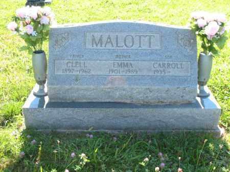 MALOTT, EMMA ALMIRA - Brown County, Ohio | EMMA ALMIRA MALOTT - Ohio Gravestone Photos