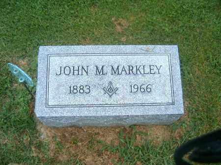 MARKLEY, JOHN  M - Brown County, Ohio | JOHN  M MARKLEY - Ohio Gravestone Photos