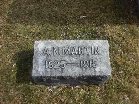 MARTIN, A N - Brown County, Ohio | A N MARTIN - Ohio Gravestone Photos