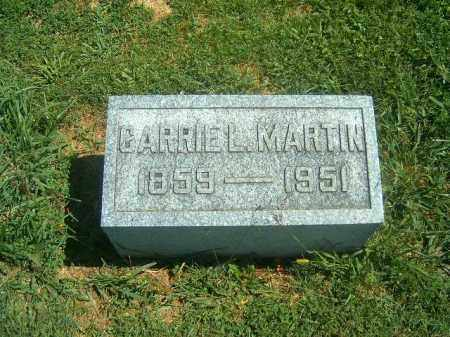 MARTIN, CARRIE   L - Brown County, Ohio | CARRIE   L MARTIN - Ohio Gravestone Photos