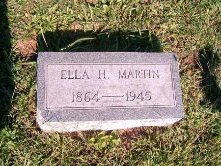 MARTIN, ELLA   A - Brown County, Ohio | ELLA   A MARTIN - Ohio Gravestone Photos