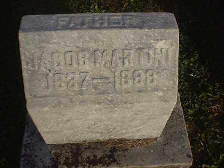MARTIN, JACOB - Brown County, Ohio   JACOB MARTIN - Ohio Gravestone Photos
