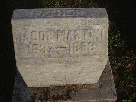 MARTIN, JACOB - Brown County, Ohio | JACOB MARTIN - Ohio Gravestone Photos