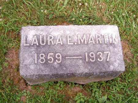 MARTIN, LAURA  E - Brown County, Ohio | LAURA  E MARTIN - Ohio Gravestone Photos