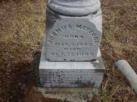 MEFFORD, JOSHUA - Brown County, Ohio | JOSHUA MEFFORD - Ohio Gravestone Photos