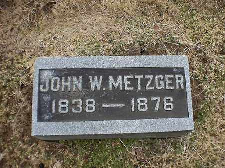 METZGER, JOHN  W - Brown County, Ohio | JOHN  W METZGER - Ohio Gravestone Photos