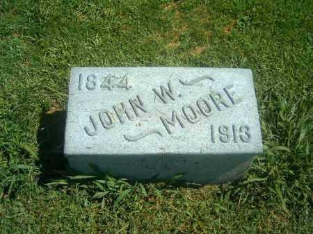 MOORE, JOHN   W - Brown County, Ohio | JOHN   W MOORE - Ohio Gravestone Photos