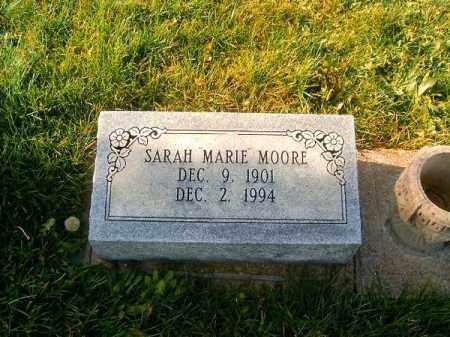 MOORE, SARAH  MARIE - Brown County, Ohio   SARAH  MARIE MOORE - Ohio Gravestone Photos