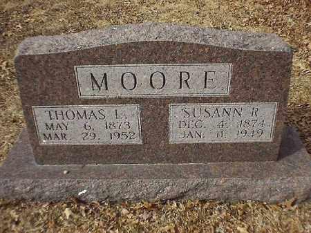 MOORE, SUSAN  R - Brown County, Ohio | SUSAN  R MOORE - Ohio Gravestone Photos