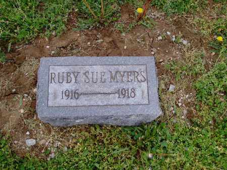 MYERS, RUBY - Brown County, Ohio | RUBY MYERS - Ohio Gravestone Photos