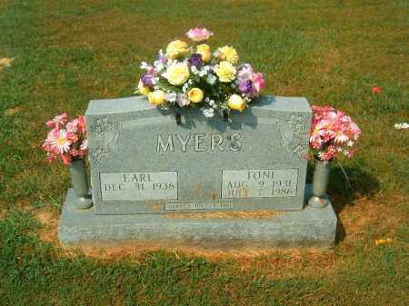 MYERS, TONI - Brown County, Ohio | TONI MYERS - Ohio Gravestone Photos