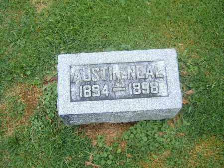 NEAL, AUSTIN - Brown County, Ohio | AUSTIN NEAL - Ohio Gravestone Photos