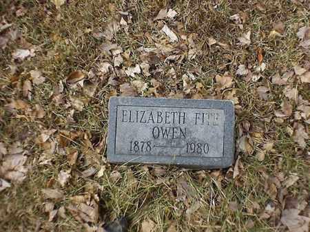 OWEN, ELIZABETH - Brown County, Ohio | ELIZABETH OWEN - Ohio Gravestone Photos