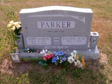 PARKER, JOHN AARON - Brown County, Ohio   JOHN AARON PARKER - Ohio Gravestone Photos