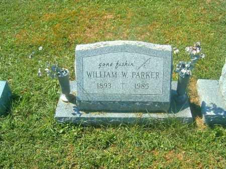 PARKER, WILLIAM  W - Brown County, Ohio   WILLIAM  W PARKER - Ohio Gravestone Photos