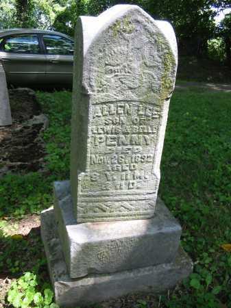 PENNY, ALLEN LEE - Brown County, Ohio | ALLEN LEE PENNY - Ohio Gravestone Photos