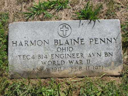 PENNY, HARMON BLAINE - Brown County, Ohio | HARMON BLAINE PENNY - Ohio Gravestone Photos