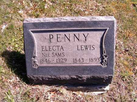 PENNY, ELECTA - Brown County, Ohio | ELECTA PENNY - Ohio Gravestone Photos