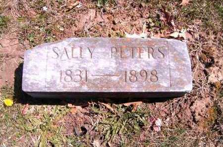 PETERS, SALLY - Brown County, Ohio   SALLY PETERS - Ohio Gravestone Photos