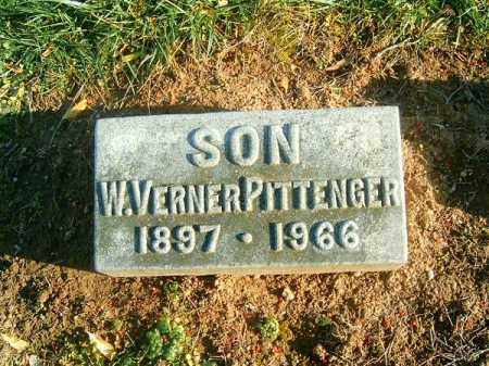PITTENGER, W  VERNER - Brown County, Ohio | W  VERNER PITTENGER - Ohio Gravestone Photos