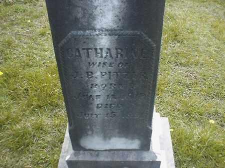 PITZER, CATHERINE - Brown County, Ohio | CATHERINE PITZER - Ohio Gravestone Photos