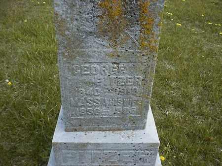 PITZER, GEORGE - Brown County, Ohio   GEORGE PITZER - Ohio Gravestone Photos