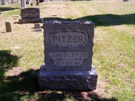 PITZER, JAMES  E - Brown County, Ohio | JAMES  E PITZER - Ohio Gravestone Photos