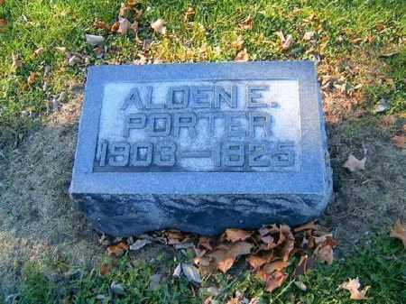 PORTER, ALDEN  E - Brown County, Ohio | ALDEN  E PORTER - Ohio Gravestone Photos