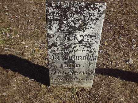 PURDOM, JANET - Brown County, Ohio | JANET PURDOM - Ohio Gravestone Photos