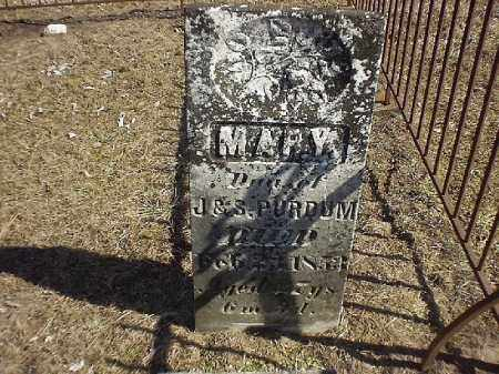 PURDUM, MARY - Brown County, Ohio | MARY PURDUM - Ohio Gravestone Photos