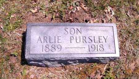 PURSLEY, ARLIE - Brown County, Ohio | ARLIE PURSLEY - Ohio Gravestone Photos
