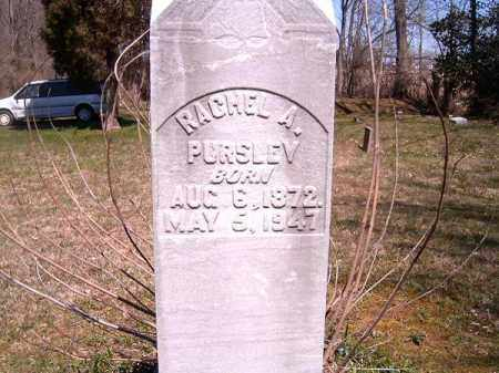 PURSLEY, RACHEL   A - Brown County, Ohio | RACHEL   A PURSLEY - Ohio Gravestone Photos