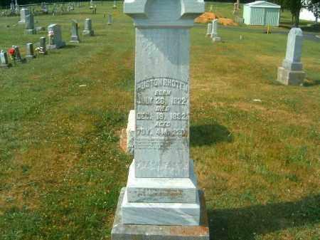 RHOTEN, HUSTON - Brown County, Ohio | HUSTON RHOTEN - Ohio Gravestone Photos
