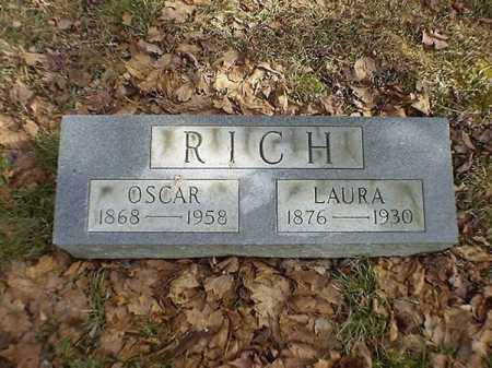 RICH, LAURA - Brown County, Ohio | LAURA RICH - Ohio Gravestone Photos