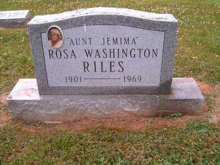WASHINGTON RILES, ROSA - Brown County, Ohio | ROSA WASHINGTON RILES - Ohio Gravestone Photos