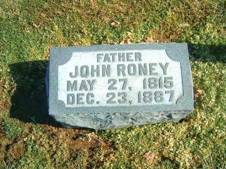 RONEY, JOHN - Brown County, Ohio   JOHN RONEY - Ohio Gravestone Photos
