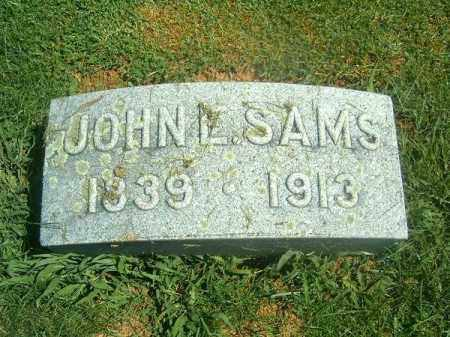 SAMS, JOHN  L - Brown County, Ohio | JOHN  L SAMS - Ohio Gravestone Photos