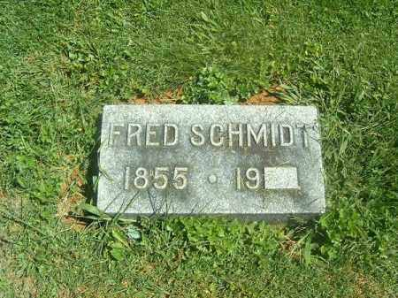 SCHMIDT, FRED - Brown County, Ohio | FRED SCHMIDT - Ohio Gravestone Photos